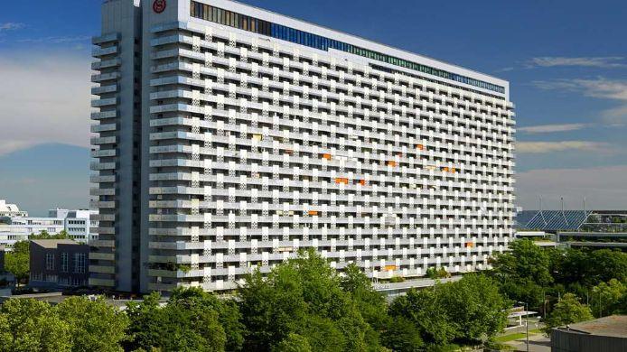 Sheraton Munich Arabellapark Hotel Munchen 4 Hrs Sterne Hotel Bei
