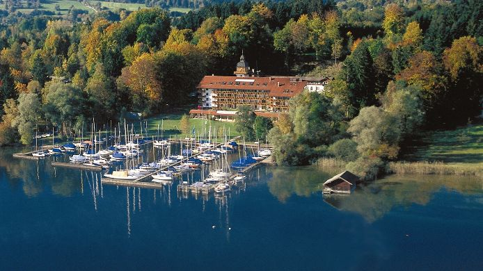 Yachthotel Chiemsee Prien Am Chiemsee 4 Sterne Hotel Bei Hrs Mit