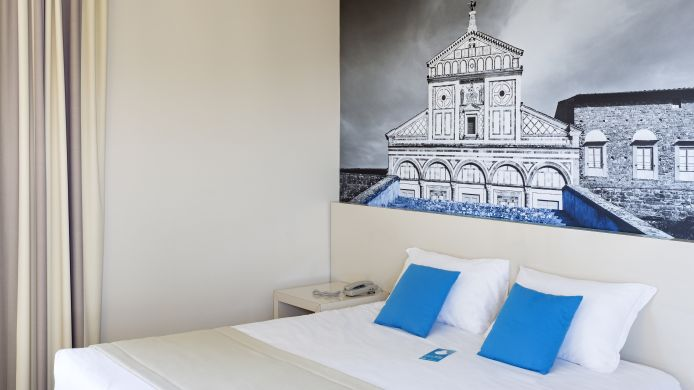 Außenansicht B&B Hotel Firenze City Center
