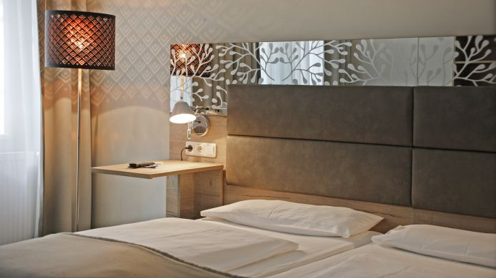 Chambre double (standard) Haberstock Hotelissimo