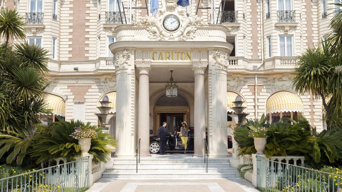 Außenansicht InterContinental Hotels CARLTON CANNES