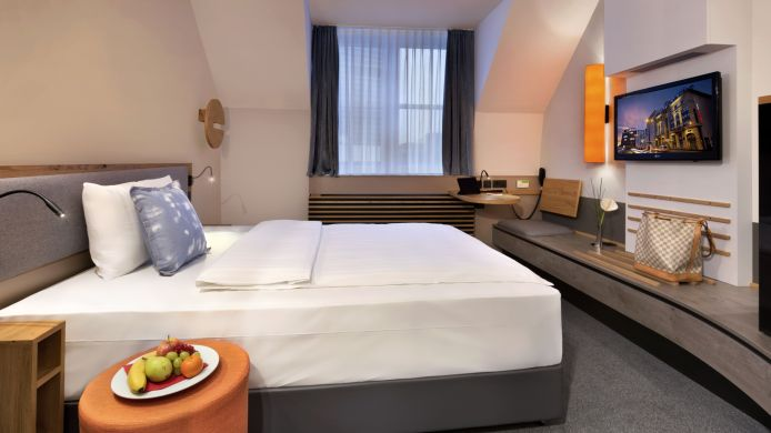 Chambre individuelle (standard) Fleming's Express Hotel Frankfurt