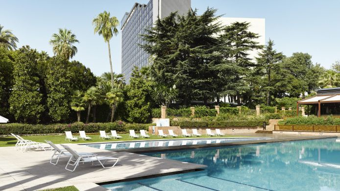 Vista esterna Fairmont Rey Juan Carlos I Business & City Resort