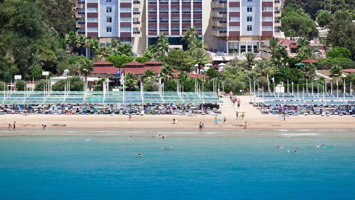 Exterior View Terrace Beach Resort