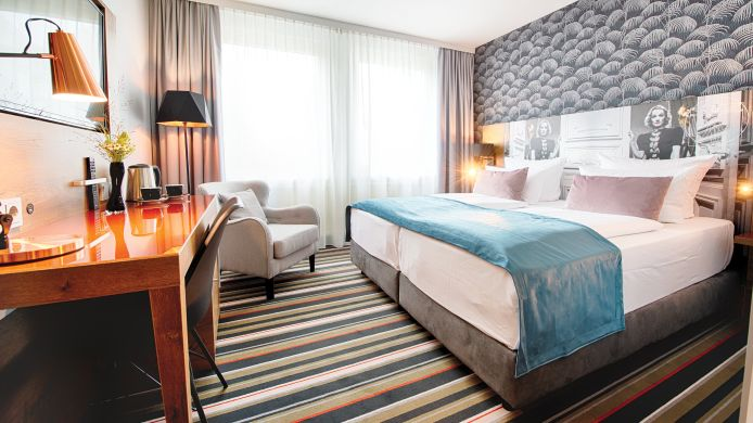 Tweepersoonskamer (standaard) Leonardo Boutique Hotel Berlin City South