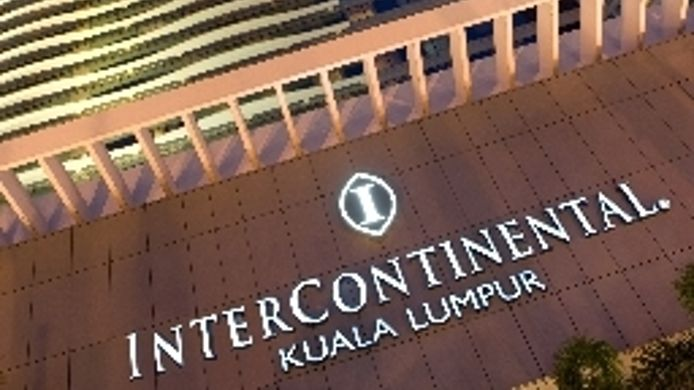 Intercontinental Hotels Kuala Lumpur 5 Hrs Star Hotel