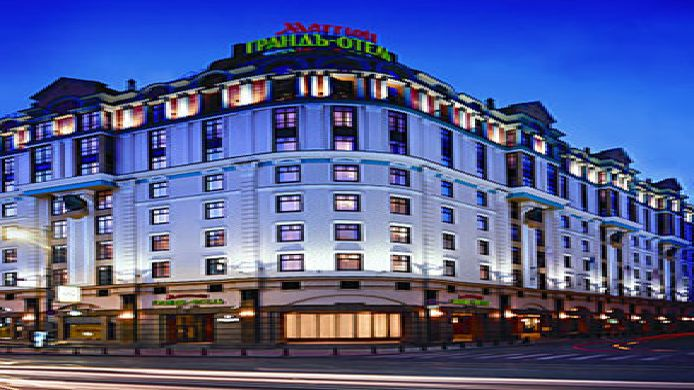 Exterior view Moscow Marriott Grand Hotel