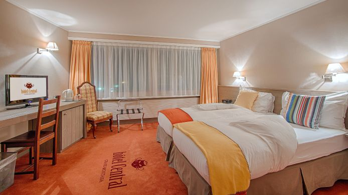 Chambre double (standard) Hotel Central