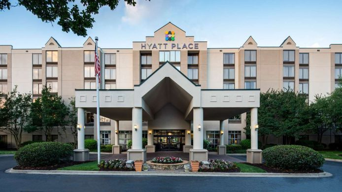 Außenansicht Hyatt Place Greenville Haywood