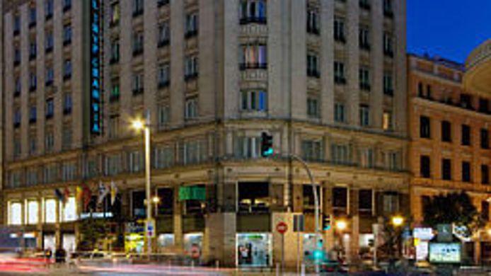 Exterior View Hotel Madrid Gran Via Managed By Melia