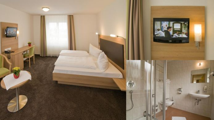 Chambre double (confort) Hotel Krauthof