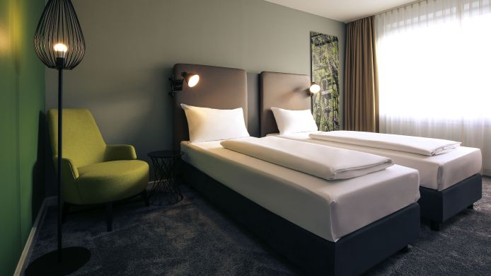 Chambre double (standard) Mercure Hotel Plaza Essen