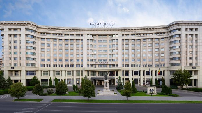 Außenansicht JW Marriott Bucharest Grand Hotel