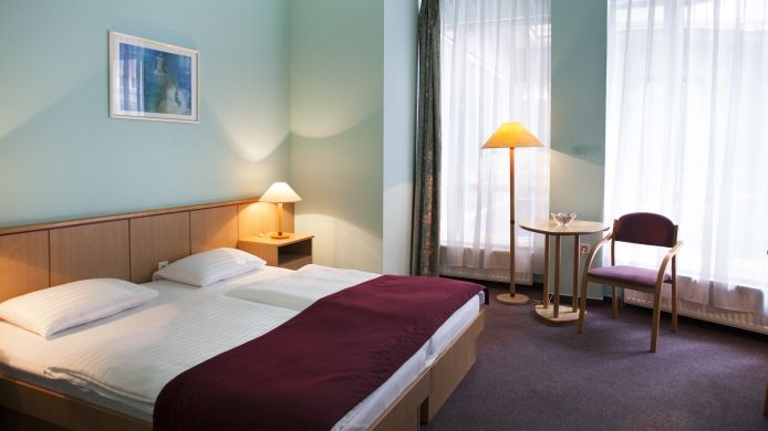 Chambre double (standard) City Hotel Pilvax