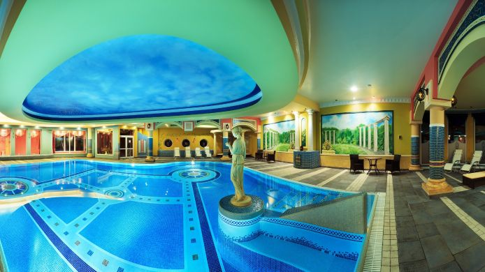 Area relax Papuga Park Hotel Spa&Wellness