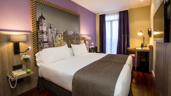 Doppelzimmer Standard Leonardo Hotel Madrid City Center