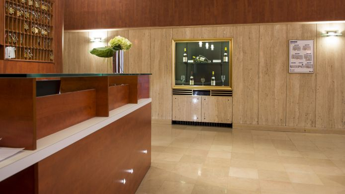 Empfang Hotel La Residence