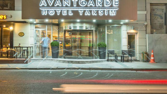 Buitenaanzicht Avantgarde Hotel Taksim
