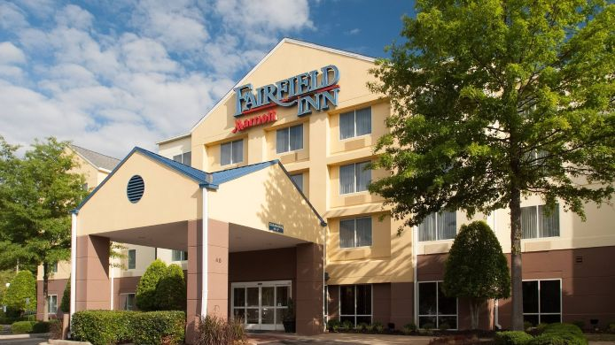 Außenansicht Fairfield Inn Greenville-Spartanburg Airport