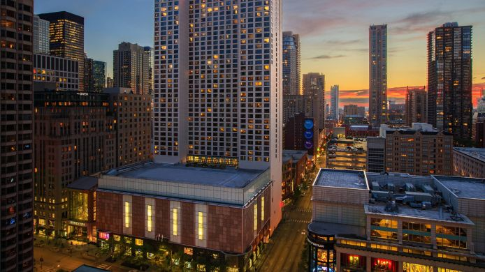 Widok zewnętrzny Chicago Marriott Downtown Magnificent Mile