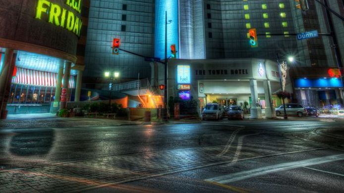 Exterior View The Tower Hotel Fallsview