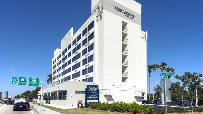 Buitenaanzicht Four Points by Sheraton Fort Lauderdale Airport/Cruise Port