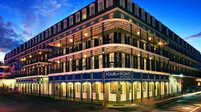 Außenansicht Four Points by Sheraton French Quarter