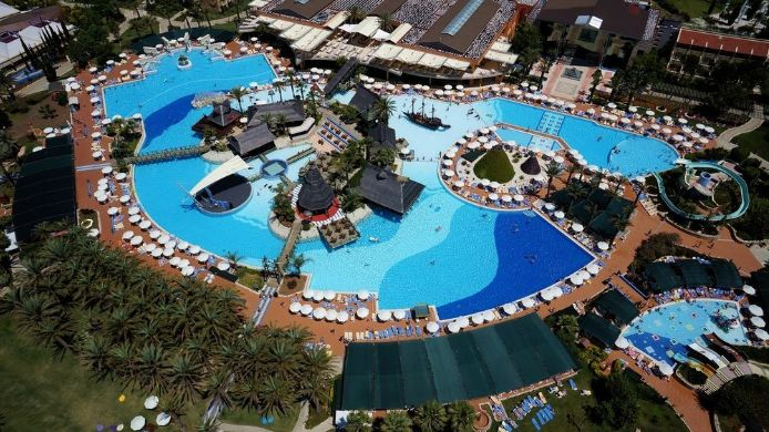 Vista exterior Pegasos World Hotel - All Inclusive