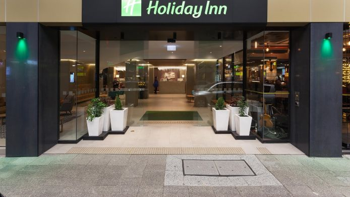 Vista exterior Holiday Inn PERTH CITY CENTRE