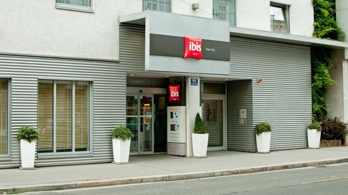 Hotel Ibis Wien City 3 Star Hotel