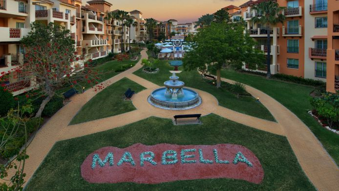 Exterior view Marriott's Marbella Beach Resort