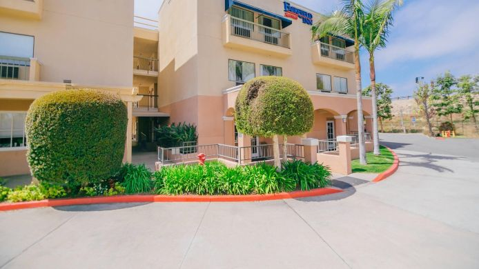 Buitenaanzicht Fairfield Inn Anaheim Hills Orange County