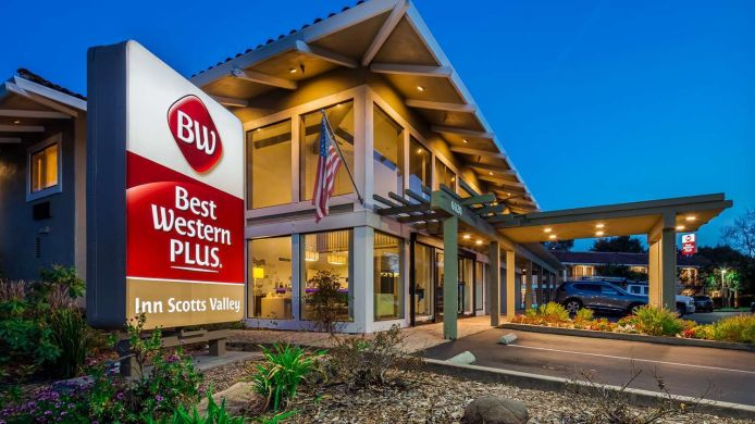 Außenansicht Best Western Plus Inn Scotts Valley