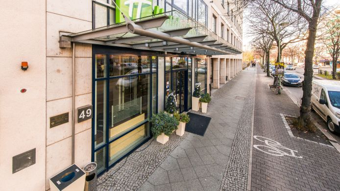 Buitenaanzicht Holiday Inn Express BERLIN CITY CENTRE