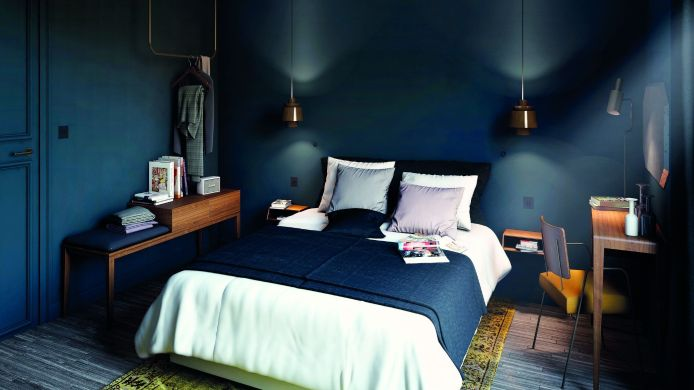 Doppelzimmer Standard COQ Hotel Paris (Community of Quality)