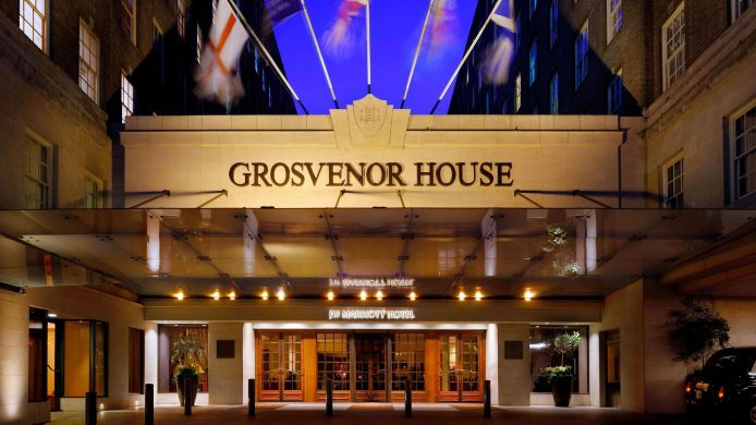 Außenansicht JW Marriott Grosvenor House London