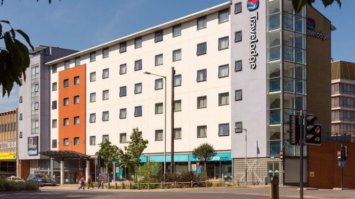 Außenansicht TRAVELODGE NORWICH CENTRAL