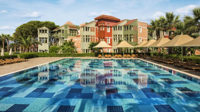 Außenansicht Club Mega Saray - All Inclusive