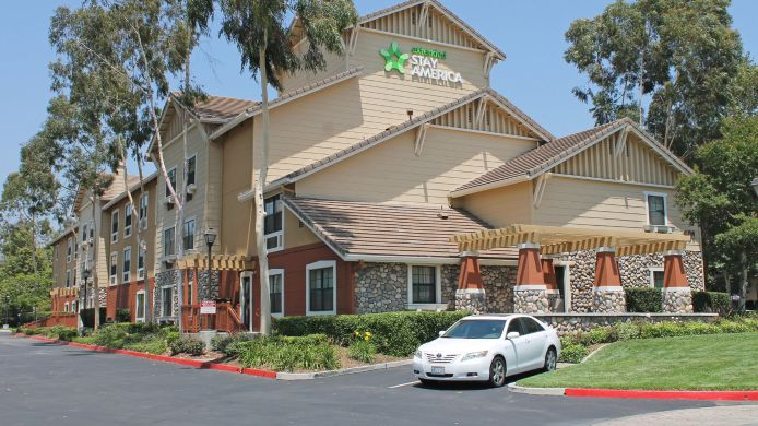 Buitenaanzicht Extended Stay America San Dima