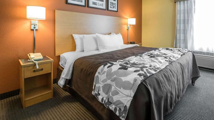 Außenansicht Sleep Inn and Suites Sheboygan I-43