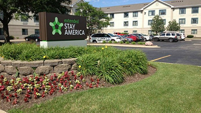 Buitenaanzicht Extended Stay America Itasca
