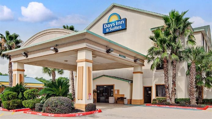 Vista esterna Days Inn and Suites Houston North/Aldine