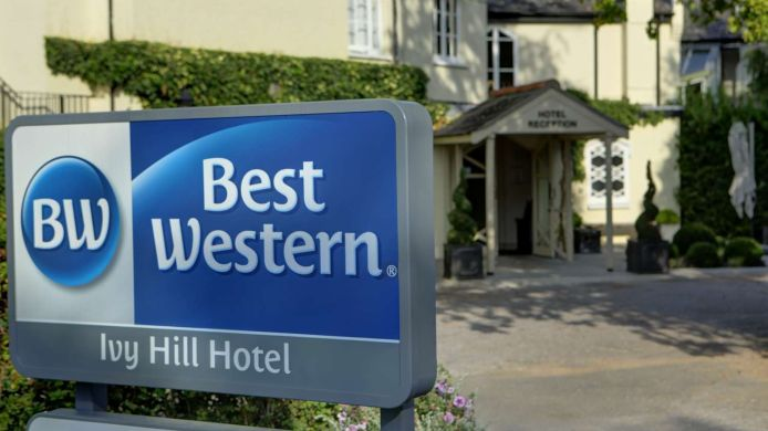 BEST WESTERN IVY HILL HOTEL - 3 HRS star hotel in Chelmsford