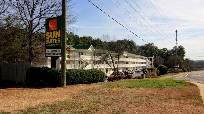 Außenansicht Sun Suites Kennesaw Atlanta North I-75