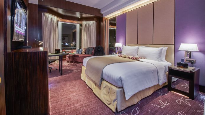Business-Zimmer Diamond Hotel Manila