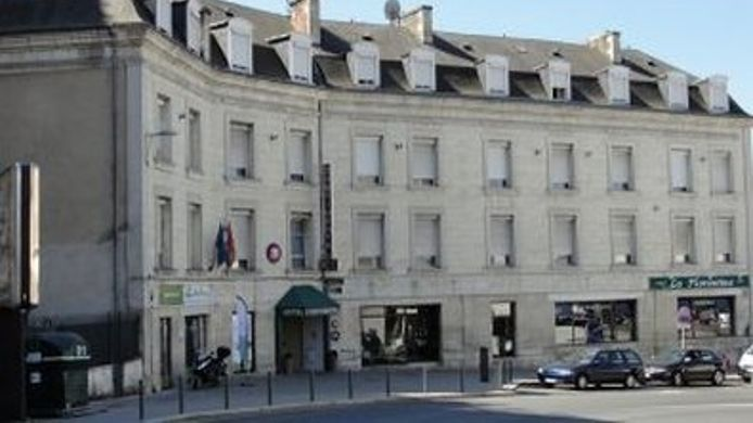Exterior view Poitiers  Hôtel Continental The Originals City (ex Inter-Hotel)