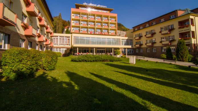 Vista exterior Spa Resort Sanssouci