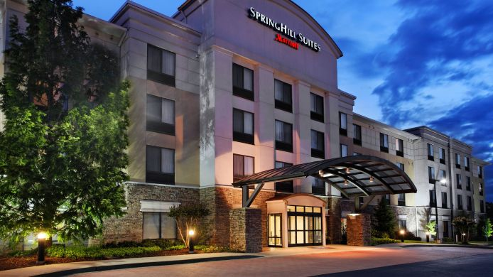 Exterior view SpringHill Suites Knoxville at Turkey Creek