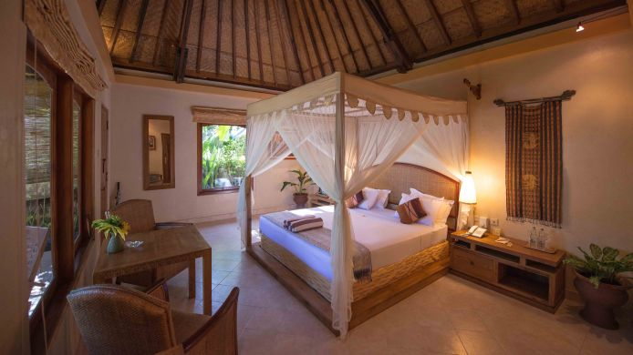 Zimmer mit Meerblick Puri Dajuma Cottages Beach Eco Resort & SPA