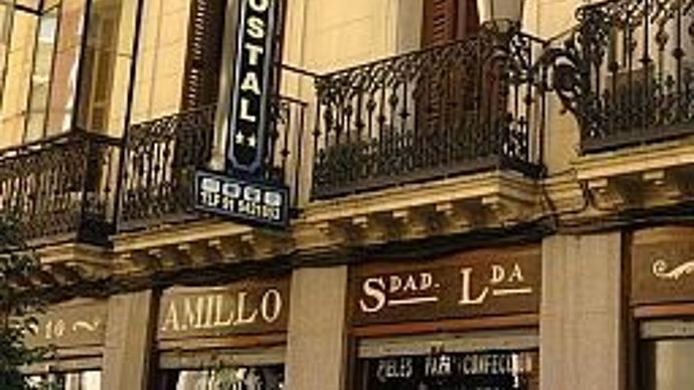 Hotel Hostal Las Fuentes 2 Hrs Star Hotel In Madrid - Fuentes-exterior